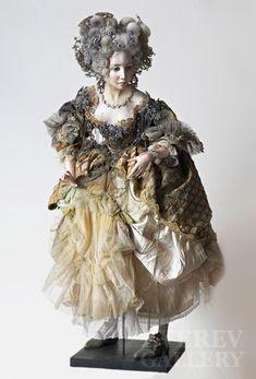 Art doll by Sasha Hudyakova