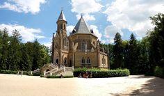 Česko, Třeboň - Schwarzenberská hrobka