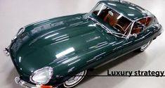 Jaguar E type Series 1 Coupé, British Racing Green, Concours winner British Sports Cars, Classic Sports Cars, Classic Cars, Jaguar Type, Jaguar Xk8, Tata Motors, Sidecar, Retro Cars, Vintage Cars