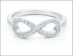 "Wld luv this ring! My finace, me & my daughter have always said ""luv u 2 infinity"" so it wld have double the specialness..."