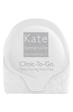 Kate Somerville® 'Clinic-to-Go' Resurfacing Peel Pads available at Nordstrom. Ideal for sensitive skin!