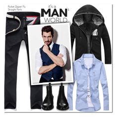 """Man's World"" by oshint ❤ liked on Polyvore featuring Givenchy, men's fashion and menswear"
