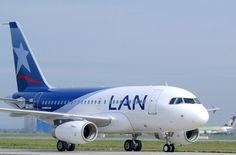 LAN Airlines flying from major cities to south america