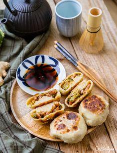 Oyakis, dumplings japonais pour voyager dans sa cuisine Raw Food Recipes, Asian Recipes, Cooking Recipes, Food C, Love Food, Asian Cooking, Healthy Cooking, Chefs, Confort Food
