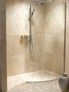 Ideas For Bath Room Shower Fixtures Wet Rooms Small Shower Room, Master Bathroom Shower, Beige Bathroom, Small Showers, Simple Bathroom, Modern Bathroom, Bath Shower, Bathroom Closet, Bathroom Showers