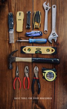 10 Basic tools every