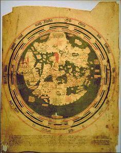 Map: South America peninsula 1448
