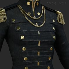 Some WIPs of my current project. A knight in an 1800's officer's uniform. Trying out the amazing Quixel Suite! Also used Maya and Mental Ray.   Any feedback is highly appreciated!