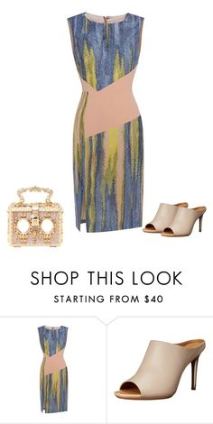 """""""Untitled #7010"""" by tailichuns ❤ liked on Polyvore featuring Calvin Klein and Dolce&Gabbana"""