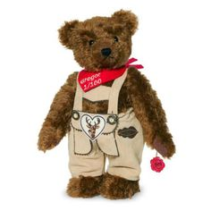 Hermann Original 17263 Gregor Bear with magnets in paws