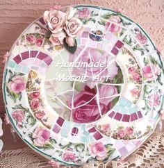 handmade Mosaic Cake Plate Stand
