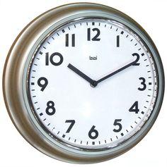 Amazon.com - Bai School Wall Clock, Turquoise -