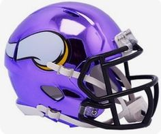 Riddell Minnesota Vikings Chrome Alternate Speed Mini Football Helmet - NFL  Mini Helmets  Sports Collectibles  New Releases - Early Bird Special 27bf59860