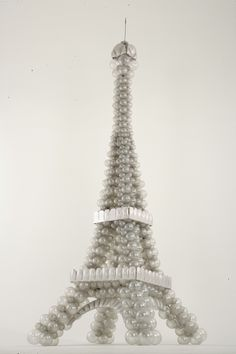The Eiffel Tower - made with balloons. We can create a similarly stunning tower…