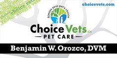 Vinyl Banners, for choiceVets, AllstateBanners.com Vinyl Banners, Marketing Materials, Pet Care