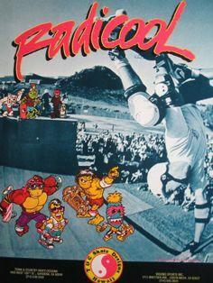 Vintage skateboard sticker