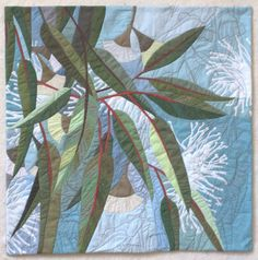 In My Portfolio: Blossoms Too | Ruth de Vos: Textile Art