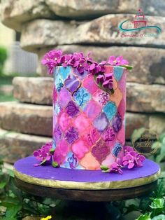 Cakerbuddies collaboration Ultraviolet - Purple Heaven  by SeasonsofCakes
