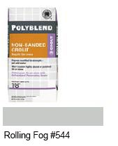 Click for a Large Photo of Polyblend® Non-Sanded Grout - Rolling Fog #544
