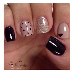 Polk a dot nails