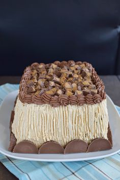 Best-Ever Chocolate Peanut Butter Cake