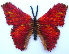 Butterfly Cymothoe Coccinata | Bead-Patterns