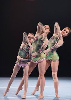 East Kilbride Acro Trio at the Pat Wade Classic in their lilachelene leotards
