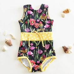 Beautiful print! Swimsuit by Blu Monet