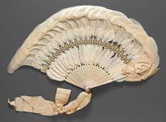 omgthatdress:  Fan late 19th century The Museum of Fine Arts, Boston