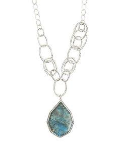 Gorgeous labradorite  necklace  $219 www.mysilpada.com/jill.martinez