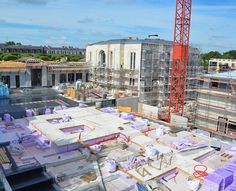 Here's a look at the construction progress of the #Paris #France Temple of The Church of Jesus Christ of Latter-day Saints. This is one of 12 Latter-day Saint temples under construction around the world. #LDS #Mormon #ShareGoodness #Construction