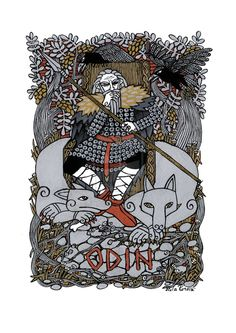 Odin by Hellanim | Create your own roleplaying game books w/ RPG Bard: www.rpgbard.com | Pathfinder PFRPG Dungeons and Dragons ADND DND OGL d20 OSR OSRIC Warhammer 40000 40k Fantasy Roleplay WFRP Star Wars Exalted World of Darkness Dragon Age Iron Kingdoms Fate Core System Savage Worlds Shadowrun Dungeon Crawl Classics DCC Call of Cthulhu CoC Basic Role Playing BRP Traveller Battletech The One Ring TOR