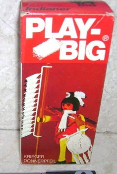 Play-Big Indianer Krieger Donnerpfeil Indian Warrior
