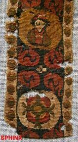 coptic textile fragment .