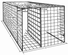 How to build a hog trap.   @Kailin King King King King King Bennett