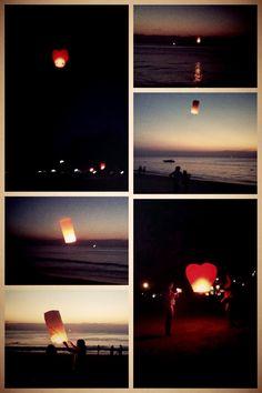 Flying wishes - Karon beach