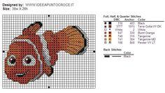 Nemo cross stitch 2-3