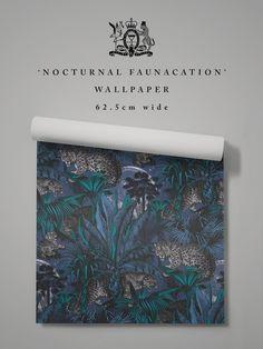 Nocturnal Faunacation, Best Wallpaper Murals – Divine Savages