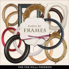 Far Far Hill: New Freebies Frames