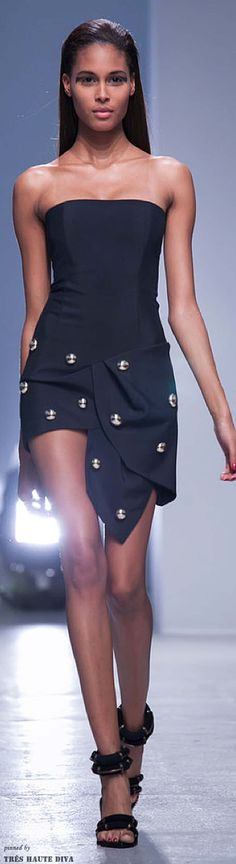 Paris Fashion Week - Anthony Vaccarello Spring/Summer 2014 | The House of Beccaria~
