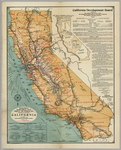 US Railroad Map Large Vintage Map Of United States Railroads - Old us railroad map