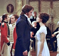 """To make out your character, Mr. Darcy."" ""And what have you discovered?"" ""Very little."" 