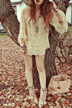 eggshell H&M shirt - eggshell Forever 21 shirt - pink Liz Lisa boots