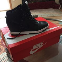 WMNS DUNK SKY HI ESSENTIAL Brand New still in the box .. Just not my style.. Nike Shoes Athletic Shoes