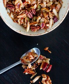 Have you ever had fresh, warm granola right out of the oven? I hadn't either until my sweet ...