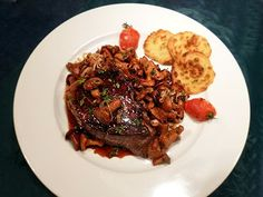 Chateaubriand aux girolles