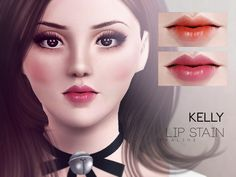 Lana CC Finds — Kelly Lipstain by Pralinesims (The Sims 3)...