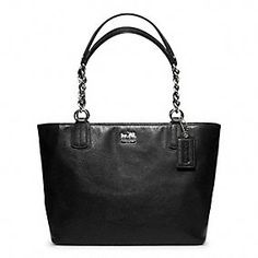 MADISON LEATHER TOTE... Love my Coach!