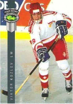Kozlov, Viktor / Lada Togliatti (1992) / Classic #225 (Hockey Card) / Four Sport Draft Pick Collection, $0.55