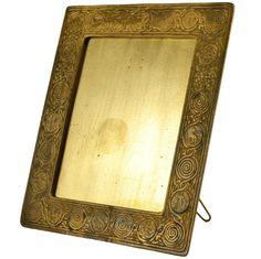 Tiffany Gilt Bronze Zodiac Picture Frame | From a unique collection of antique and modern frames at http://www.1stdibs.com/furniture/wall-decorations/frames/